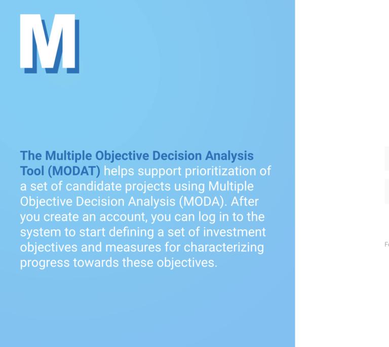 MODAT screenshot