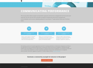 Communicating Performance Home Page
